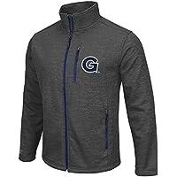 "Georgia Tech YellowJacket Vestes NCAA ""Backfield 2"" F/Z Men's Heather Charcoal Jacket Veste"