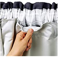 """66"""" x 70"""" BLACKOUT THERMAL CURTAIN LININGS READY MADE 3 PASS INSULATED *INCLUDES CURTAIN HOOKS*"""