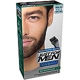 Just for Men Tinte para Bigote y Barba, M45 Castaño Oscuro