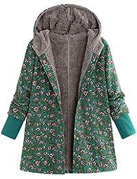 Damen Kuscheliger Langer Fleecemantel mit Kapuzen | MEIbax Winter verdicken Parka Outwear Jacke Warm gefüttert Cardigan