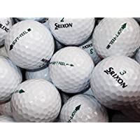 24 Srixon Soft Feel Golf Lake Balls Pearl / Grade A Grade (used not new)