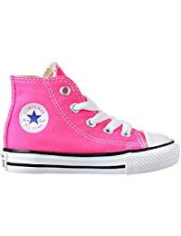 CONVERSE TODDLER All STAR HI INFANT PINK POW SIZE 9