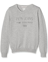 Pepe Jeans Ben, suéter Niñas, Gris (Lt Grey Marl), 3 años