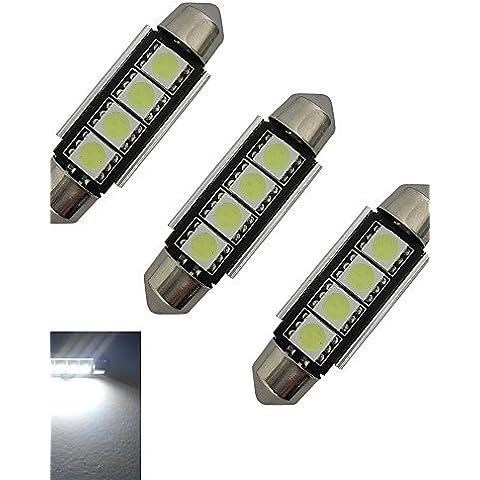 TJDlight G4-2D 3W 85LM 7000K bianco LED lampadina luce(DC 12V)