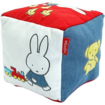Miffy Blue Denim Activity Cube, By Rainbow Designs