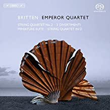 String Quartets : Nr 2 op 36, Three Divertimenti, Miniature Suite, String Quartet in D Major (1931/74)