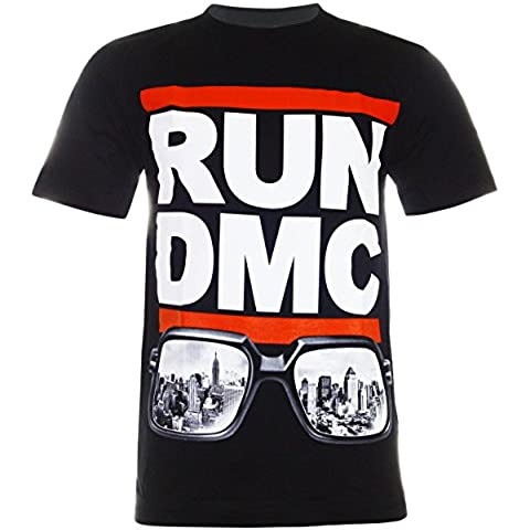 RUN DMC Original Logo T-shirt (TN060) - Dmc Palla