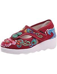 Amazon.es  fucsia - 38   Bailarinas   Zapatos para mujer  Zapatos y ... 8c44947a9439c