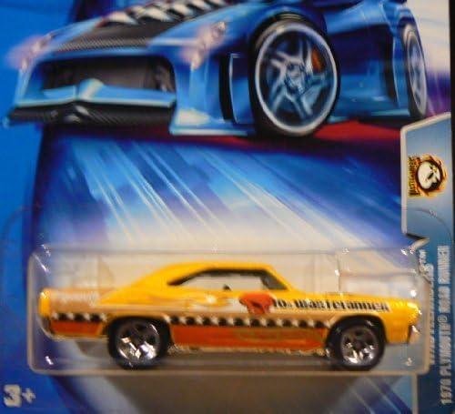 Hot Wheels Wheels Wheels 2004 Wastelanders 1970 Plymouth Road Runner YELLOW 169 Alien by Hot Wheels 82b1ee