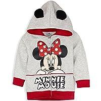 Disney Official Minnie Mouse Baby Girls Warm Hoodie, Hooded Top Jumper, Sweatshirt 9-36 Months - New 2017/18