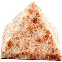 Healing Crystals India P03264 Pyramide mit Sonnenstein, 2,5 cm – 3,2 cm, Rot, 1 Stück preisvergleich bei billige-tabletten.eu