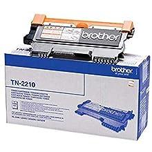Brother TN-2210 Toner Cartridge, Black, Single Pack, Standard Yield, includes 1 x Toner Cartridge, Brother Genuine Supplies