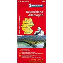 Deutschland (Michelin Nationalkarte)