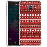 Samsung Galaxy A3 (2016) Housse Étui Protection Coque Arbres Noël Rouge