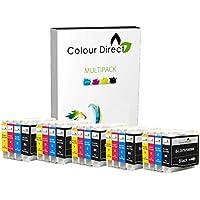 20 Colour Direct Compatible Ink Cartridges Replacement For Brother LC970 / LC1000 - DCP-130C / DCP-135C / DCP-150C / DCP-155C / DCP-330C / DCP-350C / DCP-375C / DCP-540CN / DCP-560CN / DCP750CW / DCP-770CW / Brother MFC-230C / MFC-235C / MFC-240CN / MFC-240C / MFC-260C / MFC-440CN / MFC-465CN / MFC-660CN / MFC-665CW / MFC-680CN / MFC-685CW / MFC-345CW / MFC-885CW / MFC-3360C / MFC-5460CN / MFC-5860CN / Brother Fax-1360 / Fax-1355 / Fax-2480C / Fax-1460 / Fax-1560