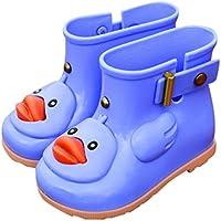 Botas de Lluvia para niños, Zapatos para Lluvia Nino Lindas Hijos Agua Alumnos Infantil Muchacha Unisexo,JYC,Niños anadón Estudiantes Lluvia Botas Antideslizante Zapatos Calentar