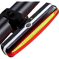 ba2aa2dc7 SLCSL Ultra Brillantes Luces de Bicicleta USB Recargable Luz de Bicicleta  Impermeable Alta Intensidad Trasera LED