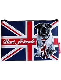 Pochette Canvas London Dog