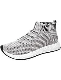 Zapatos hombre deportivos, Amlaiworld Zapatos de running altos para hombres Zapatos de gimnasia zapatillas de