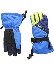 Ziener Lowis–Guantes de esquí infantil, color azul, tamaño FR : S (talla del fabricante: 5)