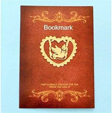 HNBGY Délicat Repères en métal de colombe de paix Repère en forme de coeur creux Clip de page de signets pour des cadeaux de lecteur   New Style,En Ligne