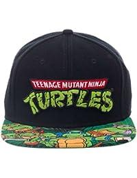 Nickelodeon Herren Teenage Mutant Ninja Turtles Sublimiert Bill Snapback