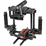 Filmcity Power DSLR Camera Cage with Top & Side Handles and Quick Release for Video DSLR Sony Nikon Canon Panasonic Lumix (FC