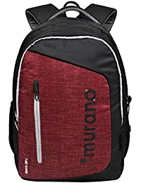 Murano Matrix 26 LTR Laptop Backpack for 15.6 inch Laptop and Polyester Water Resistance Backpack for Men and Women