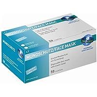 Unigloves Mundschutz - blau - 2-lagig - mit weichen,runden Elastikbändern - latexfrei - glasfaserfrei - 500 Schutzmasken preisvergleich bei billige-tabletten.eu