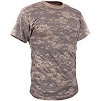 Adult Vintage ACU Digital Camo T-Shirt Small