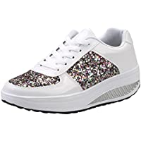 Zapatos Mujer,Mujeres Damas WedgesSneakers Lentejuelas sacudir Zapatos Moda niñas Zapatos Deportivos