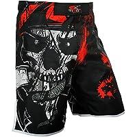 """Pantalones cortos de boxeo """"Gel"""", para UFC, MMA, Kick Boxing, Muay Thai o jaula, Large"""