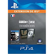 Tom Clancy's Rainbow Six Siege Currency pack 1200 Rainbow credits  [Code Jeu PS4 - Compte français]