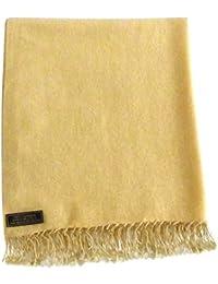 High Grade 2capas chal de cachemira 100% hecha a mano de Nepal chal bufanda Wrap nuevo
