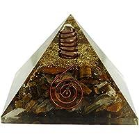 HARMONIZE Tiger Augen Stein Orgon Pyramide Reiki Healing Kristall Chakra Energie Generator preisvergleich bei billige-tabletten.eu