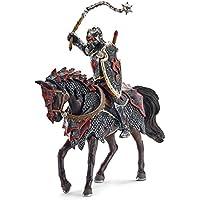 Schleich - Caballero del dragón a caballo con maza, ...
