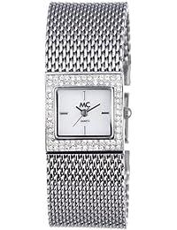 MC Timetrend Damen-Armbanduhr Analog Quarz Metallband 50330