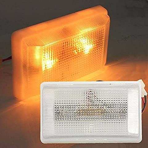 Poseidon 12v lampada luce interna del tetto a soffitto per il caravan del furgone barca a motore del camion