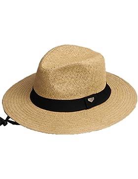 Sombrero Trilby Panamá Hombres Damas Paja Sombrero de Sol Dos Tamaños