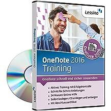 OneNote 2016 Training [1 Nutzer-Lizenz] interaktives Softwaretraining auf CD und Online-Kurs