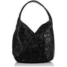 7196fff379ed3 Damen echt Leder Handtasche Gravur Floral. Italienische. Damen Boho  Handtasche.