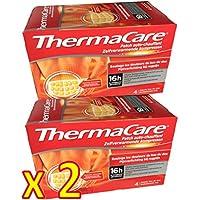 ThermaCare Rücken S-XL im 2 x Viererpack - 8 Wärmeumschläge preisvergleich bei billige-tabletten.eu