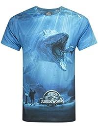 Official Jurassic World Mosasaurus Sublimation Men's T-Shirt