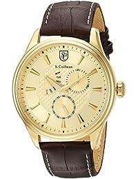 S.Coifman SC0389 - Reloj de pulsera hombre, color Marrón