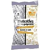 Metcalfe's Flaco Dulce Y Salada Topcorn Multipack 6 X 17g (Paquete de 6)