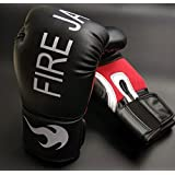 FIRE JAB Pro Style Training Boxing Gloves 12 oz