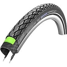 Schwalbe Marathon - Cámara para bicicleta (50,8 x 3,81cm, con alambre, incluye capa reflectante Greenguard) negro negro Talla:24x1.75