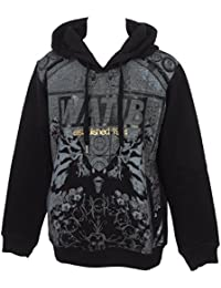 Wati b - Hudd jr gris black - Sweat capuche hooded