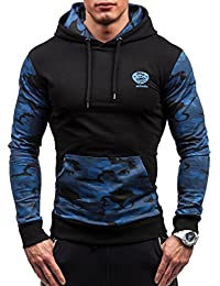 BOLF – Sweat à capuche – Pull de sport – ATHLETIC 0410 – Homme
