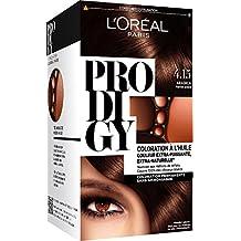 L'Oréal Paris Prodigy color permanente Pintura 4.15 Amoniaco esmalte de color marrón